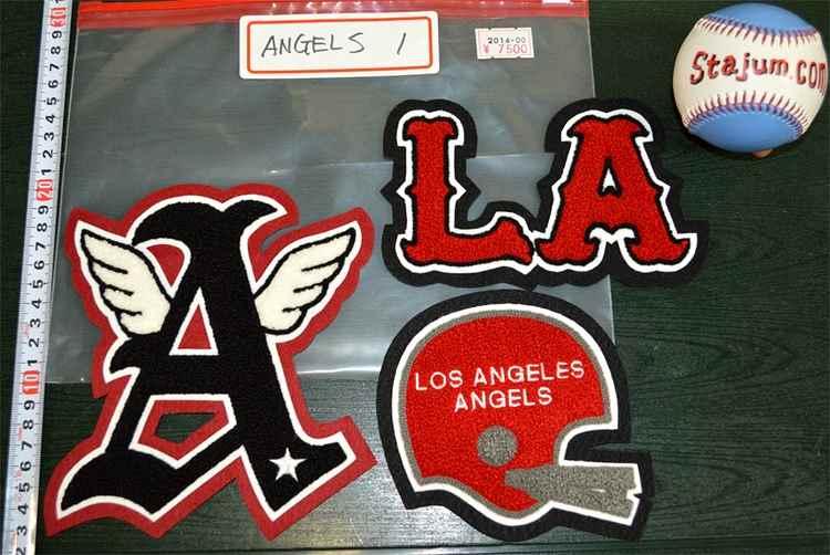 ANGELS CHENILLE LA A ロスアンゼルス シニール ワッペン